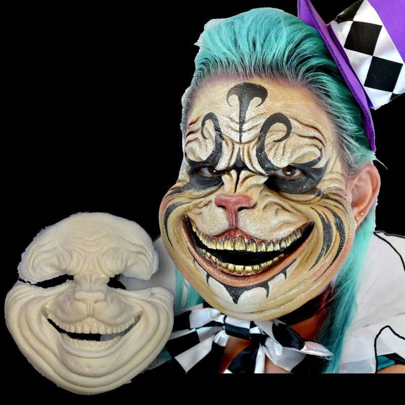 Scary Cheshire Cat Mask