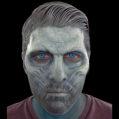 White walker prosthetic half mask