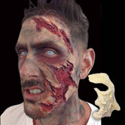 Facial injury trauma makeup SFX mask