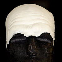 Old age or evil clown brow prosthetic