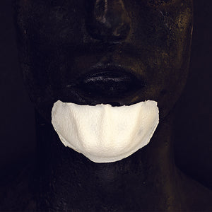 Foam latex costume chin