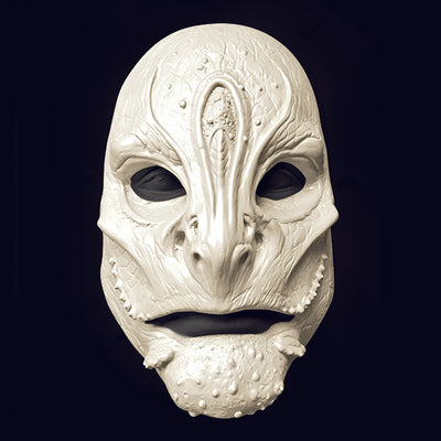 Aquatic reptile alien mask