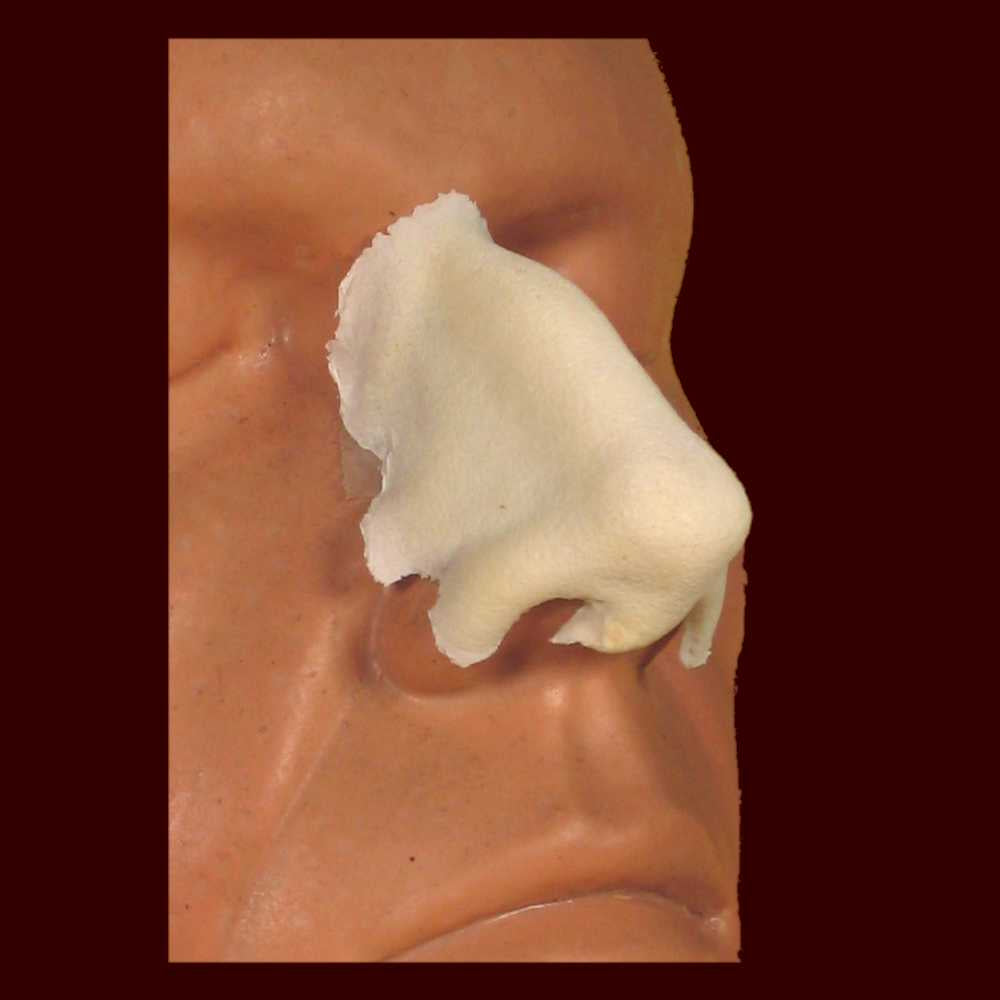 large aquiline nose foam prosthetic