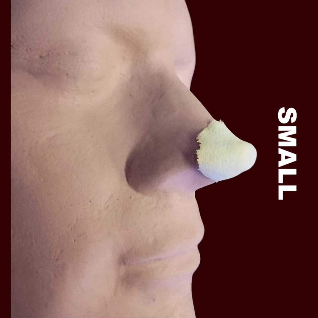 Small elf turned up nose tip