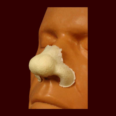 large bulbous nose halloween prosthetic
