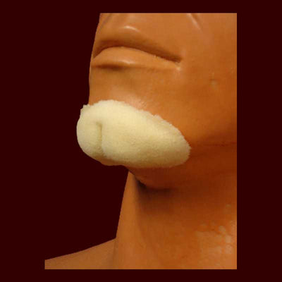 Cleft chin halloween makeup appliance