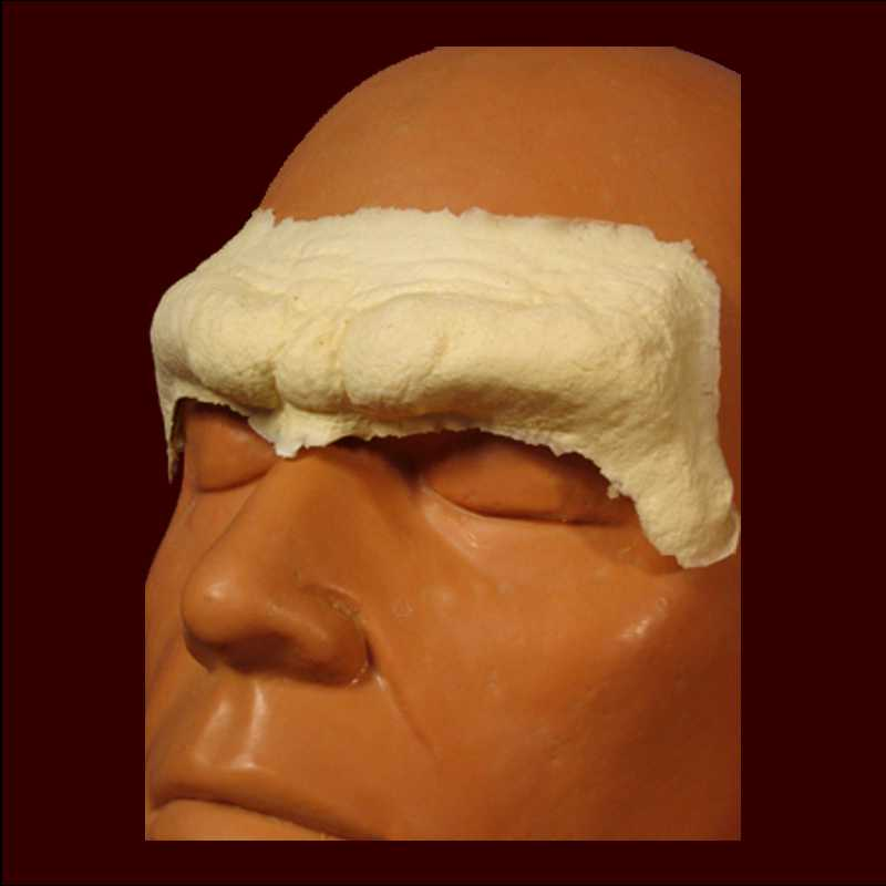 caveman forehead sfx makeup appliance