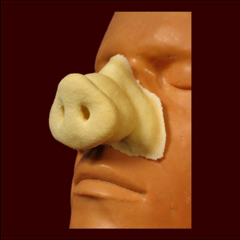 pig nose latex halloween prosthetic appliance