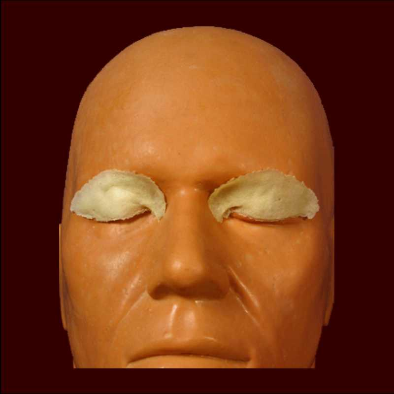 Asian eyelids makeup prosthetic