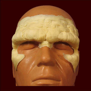 Caveman forehead foam latex appliance
