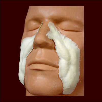 nasal labials latex appliance makeup