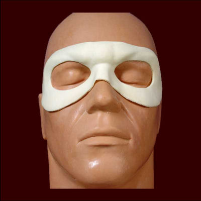 super hero identity mask latex halloween costume