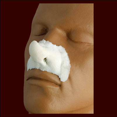 large pixie nose halloween makeup prosthetic