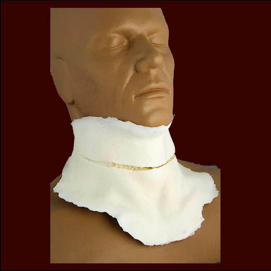 slit throat halloween costume makeup appliance