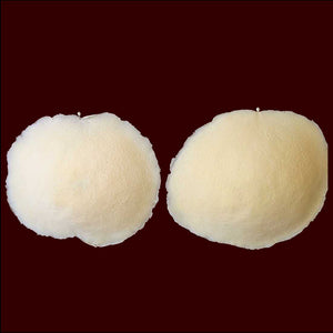 Foam latex nipple covers body paint