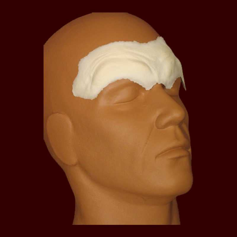Furled Brow #2 Foam Latex Appliance