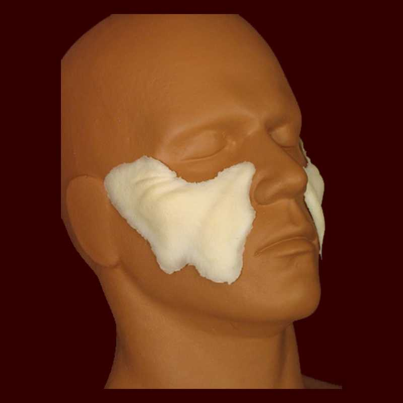 Character Cheeks #1 Foam Latex Appliance