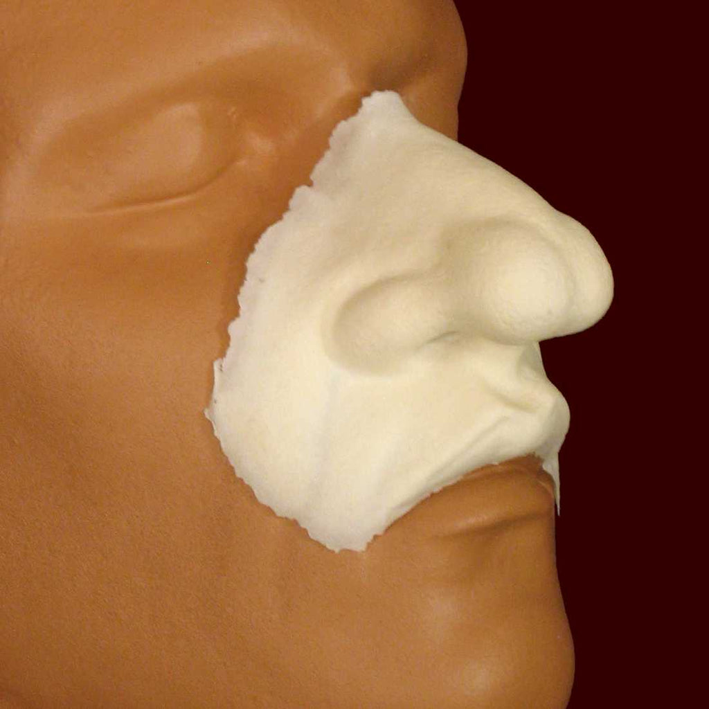 Character Nose and Upper Lip Foam Latex Appliance