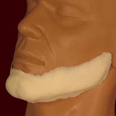 Square jaw line costume makeup appliance