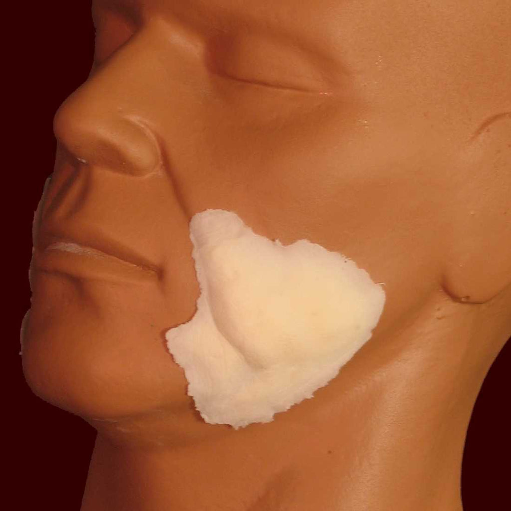 jowles foam latex facial prosthetic