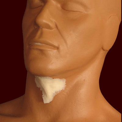 neck wattle facial prosthetic