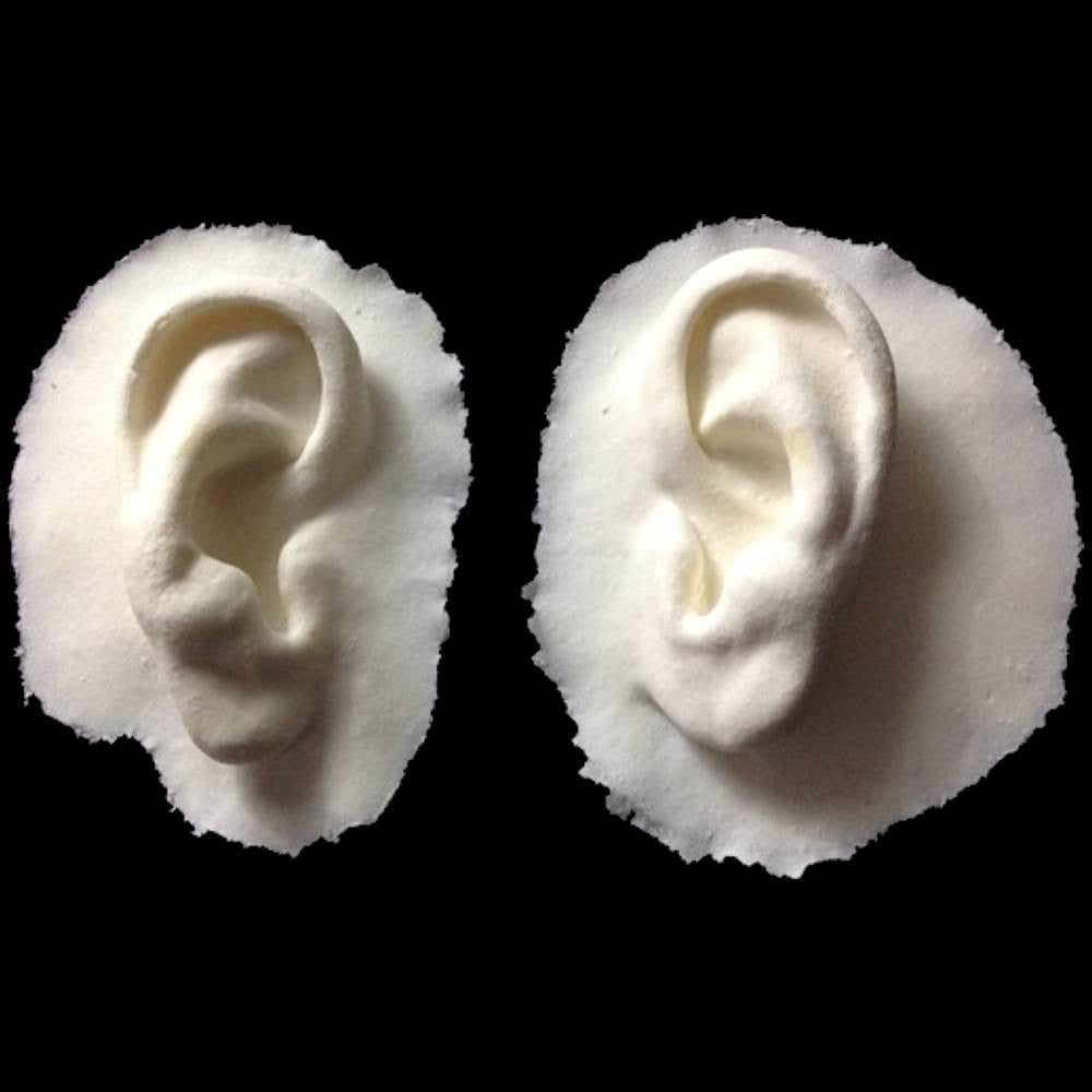 Foam latex ears