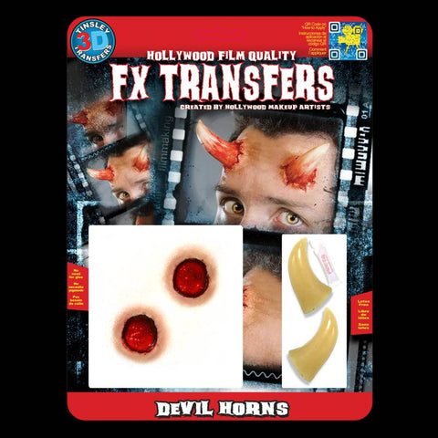Devil Horns 3D Transfers