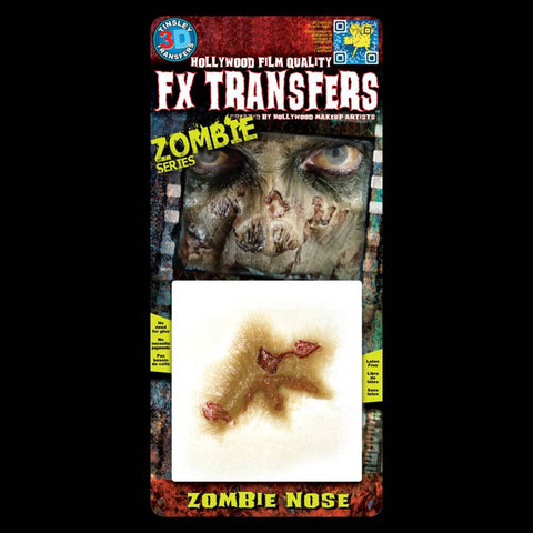 Zombie Nose Decay 3D FX Makeup Transfer