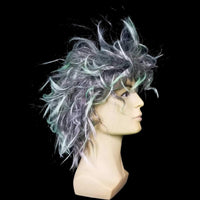 Messy mad scientist wig
