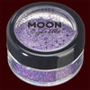 Purple holographic fine cosmetic glitter