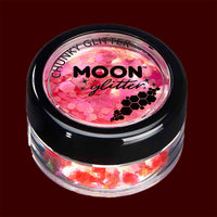 Cherry iridescent chunky face and body glitter