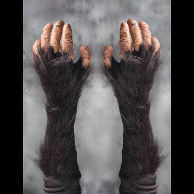 Chimp Monkey Costume Gloves