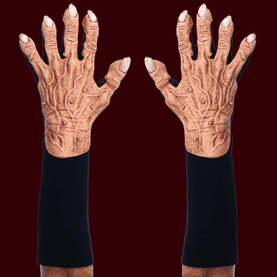 Flesh colored monster hand gloves