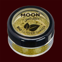 gold biodegradable fine cosmetic glitter