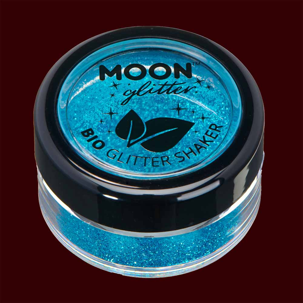 blue biodegradable fine cosmetic glitter