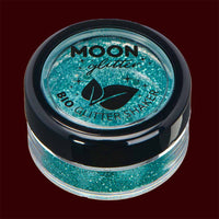 turquoise biodegradable fine cosmetic glitter