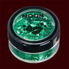 green biodegradable chunky cosmetic glitter