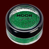 Green fine face and body glitter