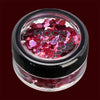 Valentines mixed color chunky cosmetic glitter