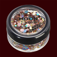 Prosecco mixed color chunky cosmetic glitter