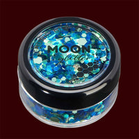 Atlantis mixed color chunky cosmetic glitter