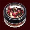 Autumn mixed color chunky cosmetic glitter