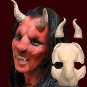 Goat foam latex mask
