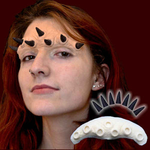 Horned brow prosthetic