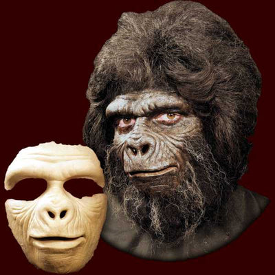 gorilla monkey chimp halloween mask