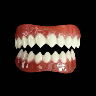 Grell costume teeth