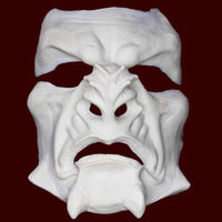 Foam latex prosthetic MUA mask