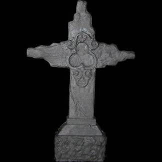 olde world cross graveyard prop