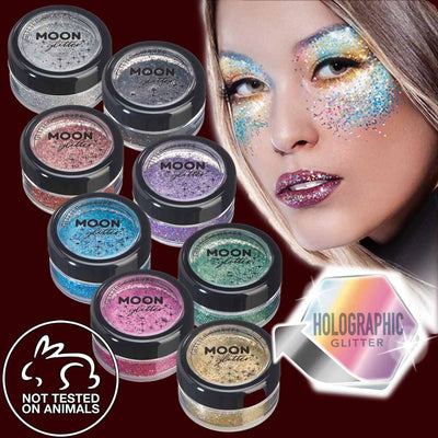 Holographic fine glitter makeup shaker