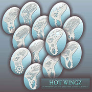 Hot Wingz makeup stencils